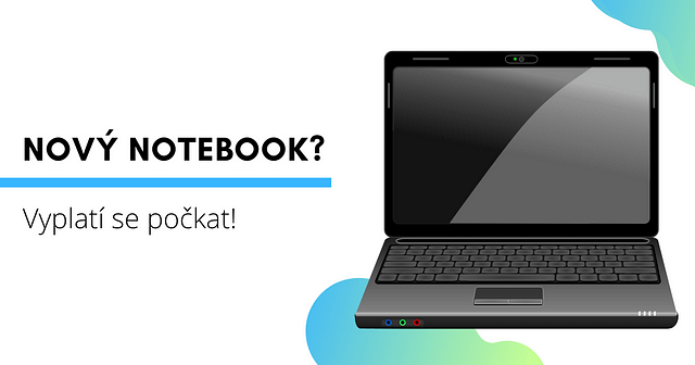 nový notebook