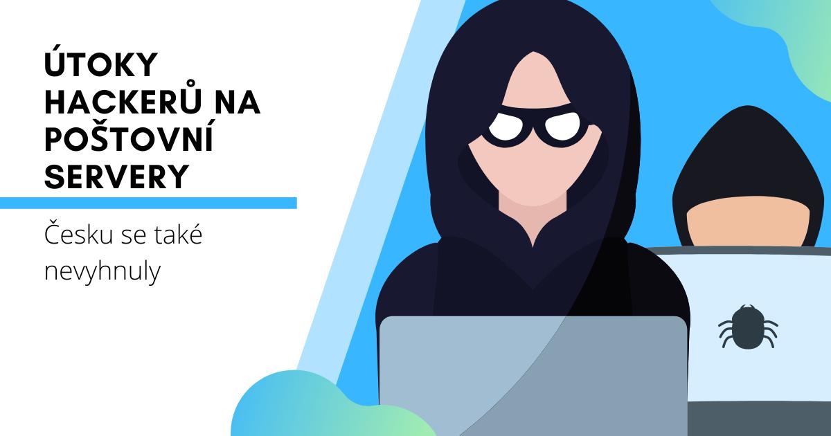 Útoky hackerů na poštovní servery